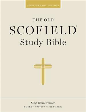 The Holy Bible: The Scofield Study Bible, King James Version, Black Leather, Duradera Zipper, (Paperback)