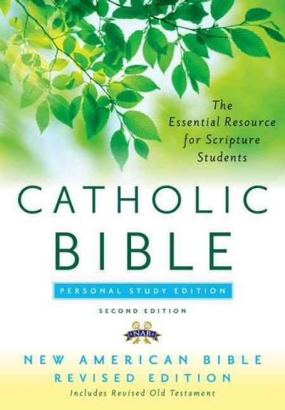 The Catholic Bible: New American Personal Study (Hardcover)