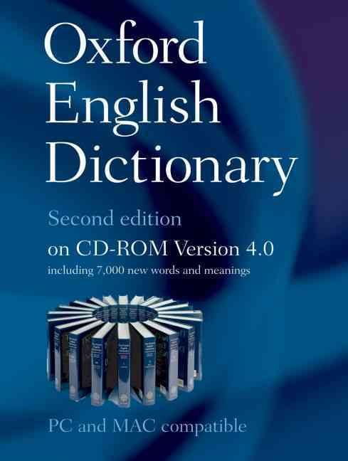 Oxford English Dictionary: Version 4.0 (CD-ROM)