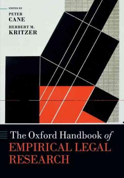 The Oxford Handbook of Empirical Legal Research (Paperback)