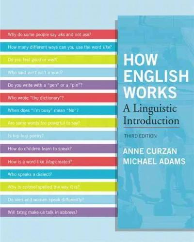 How English Works: A Linguistic Introduction (Paperback)