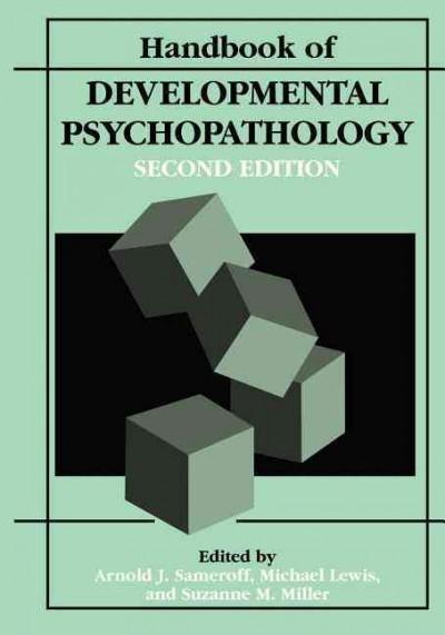 Handbook of Developmental Psychopathology (Hardcover)