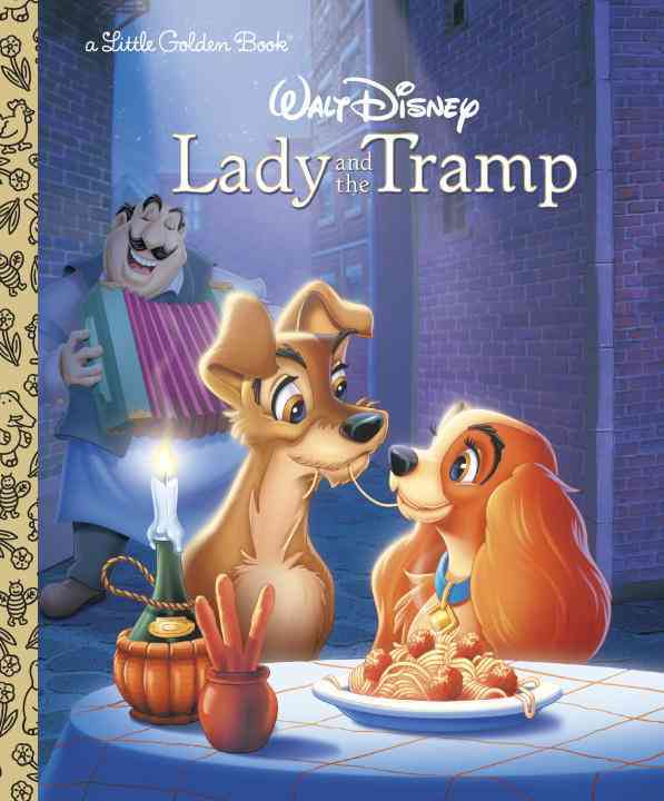 Walt Disney's Lady and the Tramp (Hardcover)