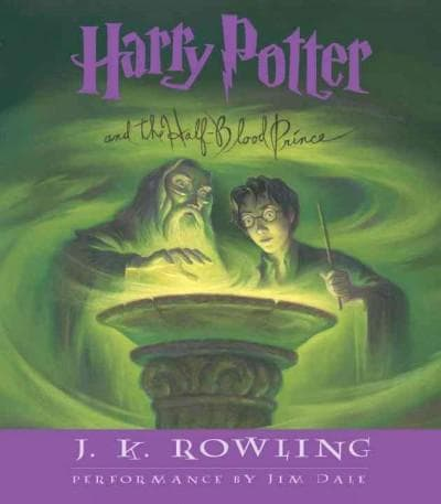 Harry Potter and the Half-blood Prince (CD-Audio) - Thumbnail 0