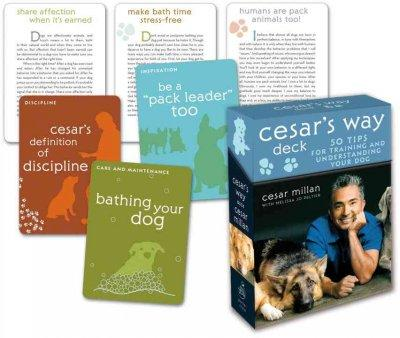 Cesar's Way Deck: 50 Tips for Training and Understanding Your Dog (Cards)