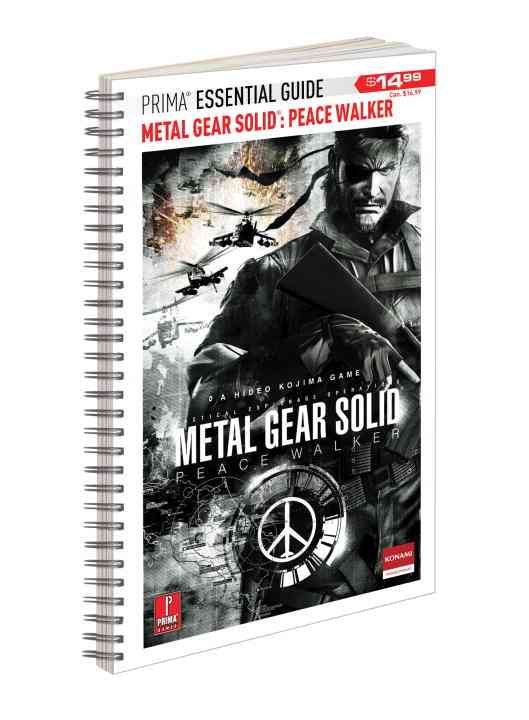 Metal Gear Solid: Peace Walker: Prima Essential Guide (Spiral bound)