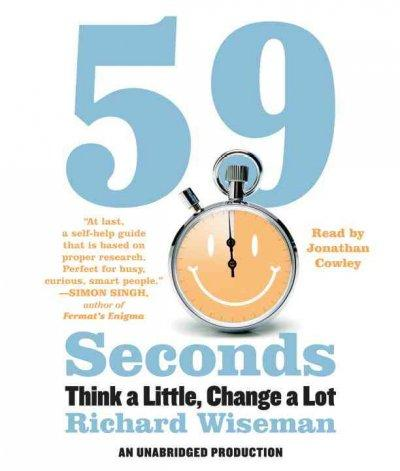 59 Seconds: Think a Little, Change a Lot (CD-Audio)