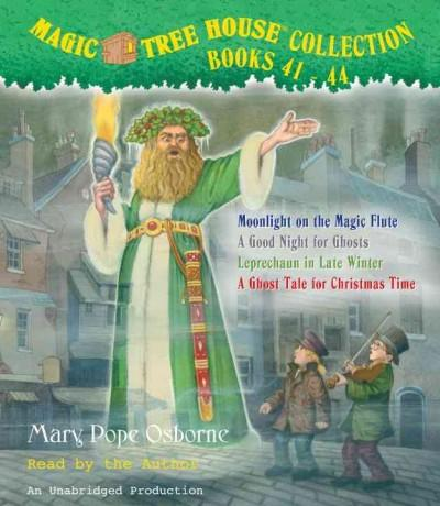 Magic Tree House Collection Books 41-44: Moonlight on the Magic Flute/A Good Night for Ghosts/Leprechaun in Late W... (CD-Audio) - Thumbnail 0