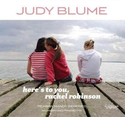Here's to You, Rachel Robinson (CD-Audio)