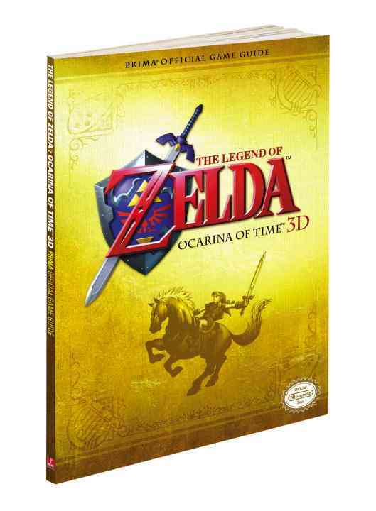 Legend of Zelda: Ocarina of Time (3ds) (Paperback)