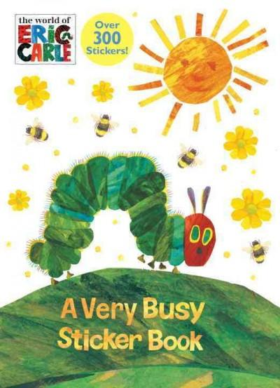 A Very Busy Sticker Book (Paperback)