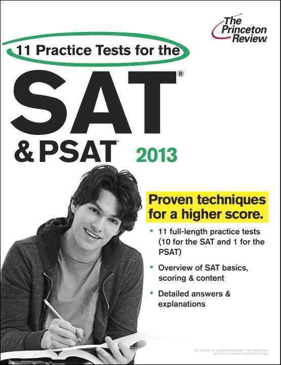 11 Practice Tests for the SAT & PSAT, 2013 (Paperback)