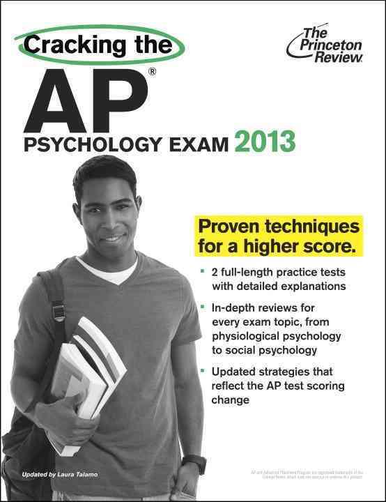 Cracking the AP Psychology Exam, 2013 (Paperback)
