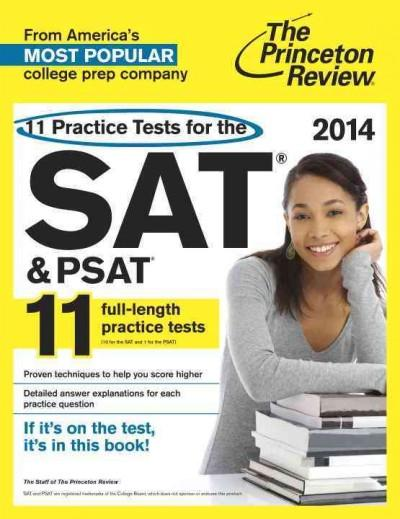 11 Practice Tests for the SAT & PSAT 2014 (Paperback)