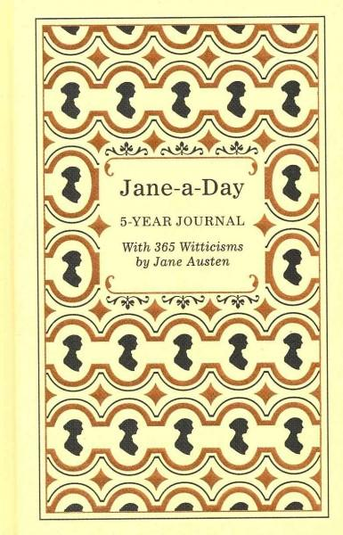Jane-a-day: 5 Year Journal (Notebook / blank book)