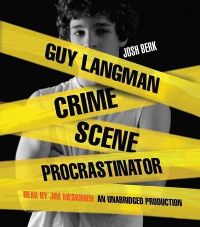 Guy Langman: Crime Scene Procrastinator (CD-Audio)