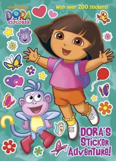 Dora's Sticker Adventure! (Paperback)