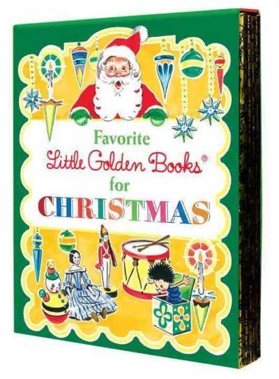 Favorite Little Golden Books for Christmas (Hardcover)