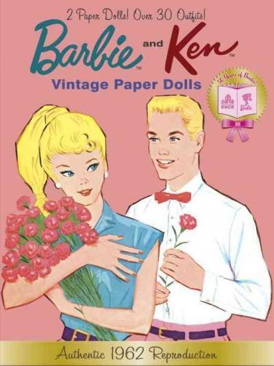 Barbie and Ken Vintage Paper Dolls: 50th Anniversary (Paperback)