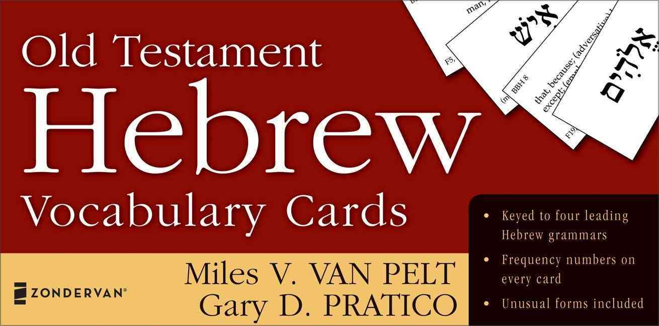 Old Testament Hebrew Vocabulary Cards (Hardcover)