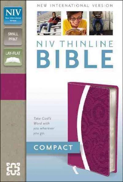 Holy Bible: New International Version, Razzleberry / Plum, Italian Duo-Tone, Thinline Bible (Paperback)