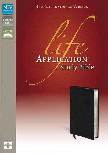 Life Application Study Bible: New International Version Black Bonded Leather (Paperback)