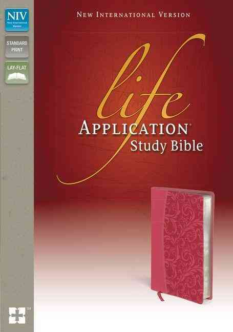 Life Application Study Bible: New International Version, Honeysuckle Pink Italian Duo-Tone (Paperback)