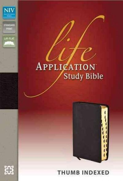 Life Application Study Bible: New International Version Burgundy Bonded Leather (Paperback)