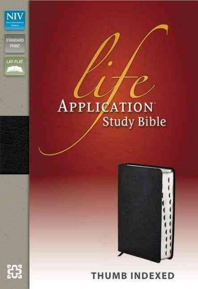 Life Application Study Bible: New International Version, Black Bonded Leather (Paperback)