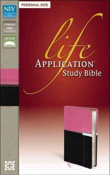 Life Application Study Bible: New International Version, Orchid / Chocolate, Italian Duo-Tone, Personal Size (Paperback)