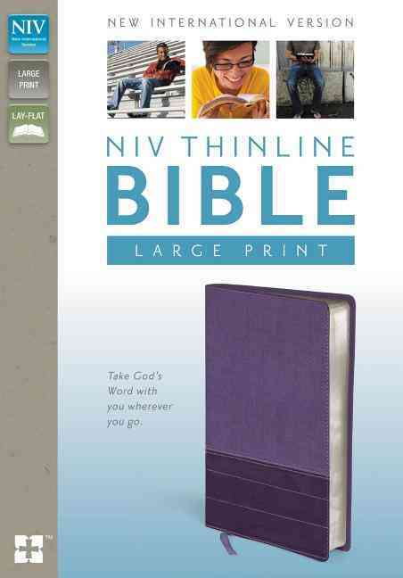 Holy Bible: New International Version Purple / Plum Italian Duo-Tone Thinline, Lay-Flat, Thinline (Paperback)