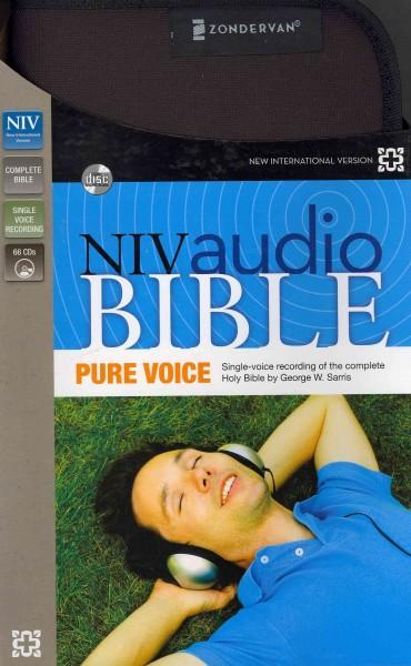 NIV Audio Bible: New International Version, Pure Voice (CD-Audio)