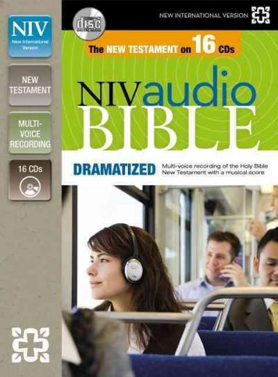 NIV Audio Bible: New International Version, New Testament Audio Bible, Dramatized (CD-Audio)