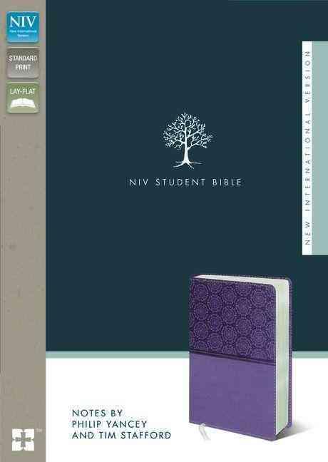 NIV Student Bible: New International Version, Lavender, Italian Duo-Tone (Paperback)