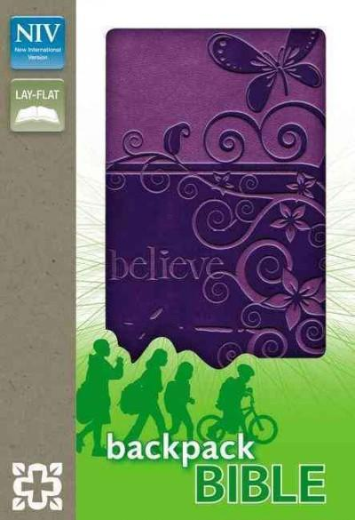 Holy Bible: New International Version, Pizzazz Purple, Italian Duo-Tone, Backpack Bible (Paperback)