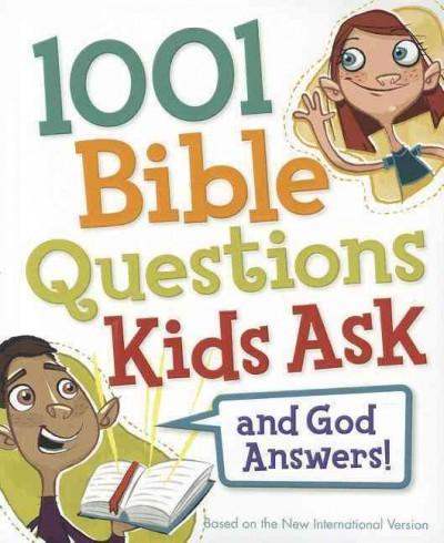 1001 Bible Questions Kids Ask (Paperback)