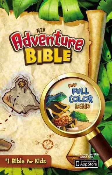 Adventure Bible: New International Version (Hardcover)
