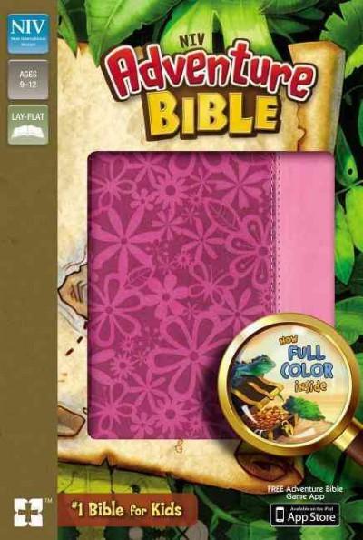Adventure Bible: New International Version, Raspberry / Pink, Italian Duo-Tone (Paperback)