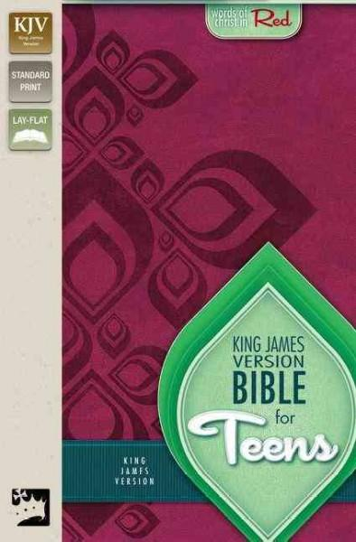 Holy Bible: King James Version for Teens, Razzleberry Italian Duo-Tone (Paperback)