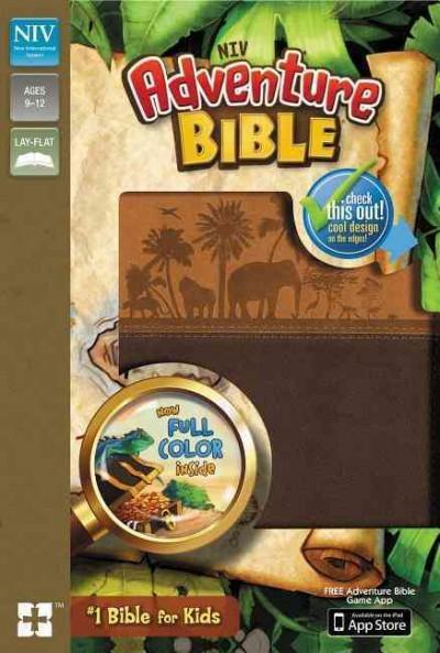 Adventure Bible: New International Version, Chocolate / Toffee, Italian Duo-Tone (Paperback)