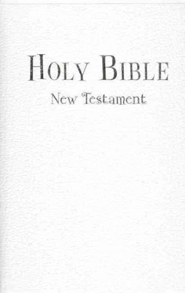 Holy Bible: New International Version, White Leather-Look, Tiny Testament Bible, Complete New Testament (Paperback)