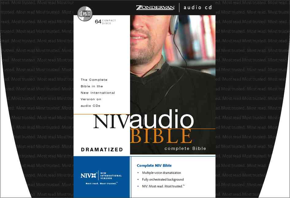 NIV Audio Bible Dramatized (CD-Audio)
