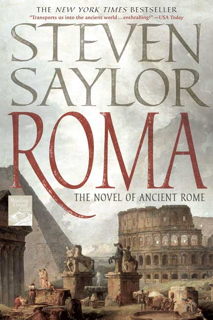 Roma: The Novel of Ancient Rome (Paperback)