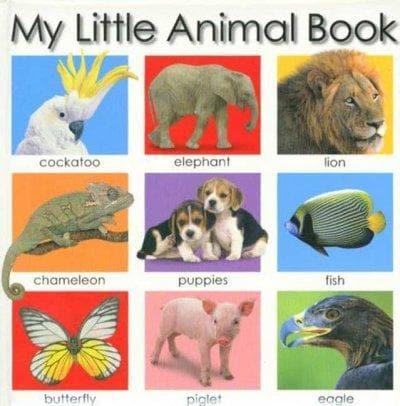 My Little Animal Book (Board book)