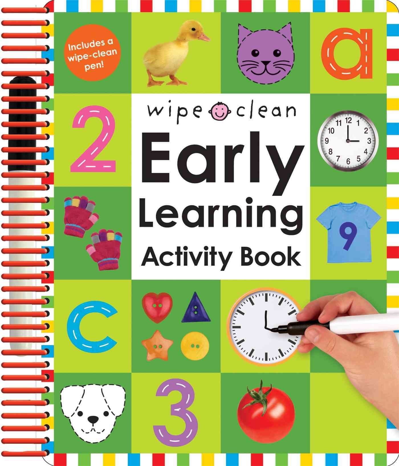 Wipe Clean Early Learning Activity Book (Paperback)