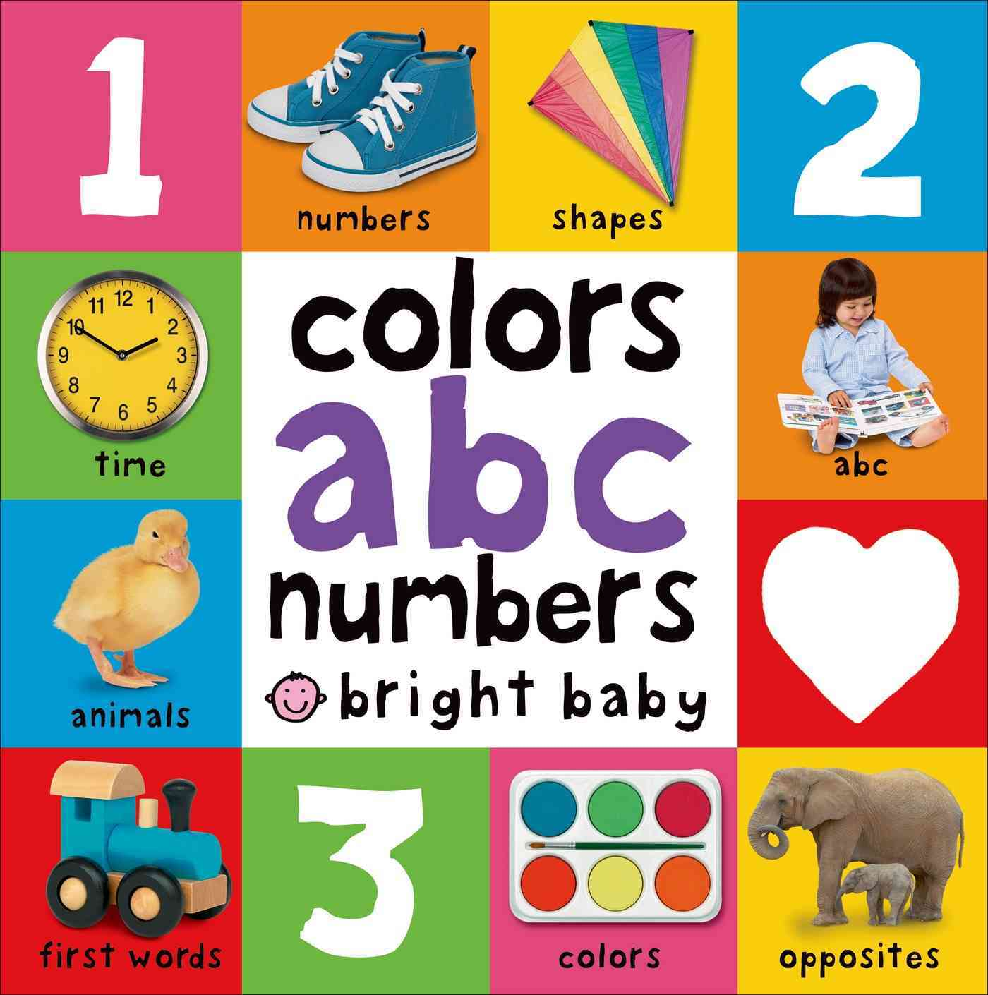 Colors, ABC, Numbers (Board book)