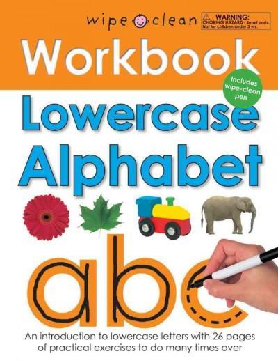 Lowercase Alphabet (Paperback)