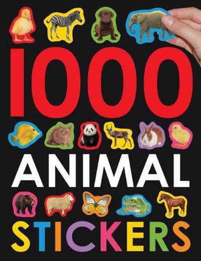 1000 Animal Stickers (Paperback)