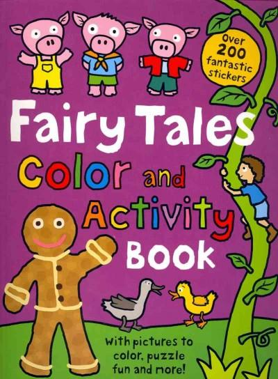 Fairy Tales Color and Activity Book (Paperback)