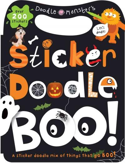 Sticker Doodle Boo! (Paperback)